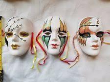 mardi gras wall masks clay venetian mardi gras resin decorative masks ebay