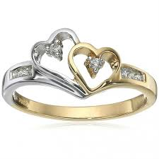 love shaped rings images Heart shaped engagement ring photos lovetoknow jpg