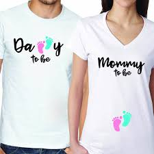 baby shower t shirts couples matching babyshower s t shirts expressmytee