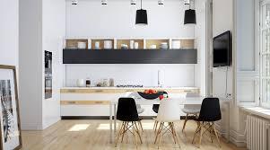 Black White Kitchen 20 Sharp Masculine Kitchens Perfect For Men