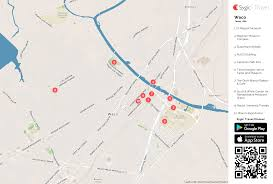 map waco waco printable tourist map sygic travel