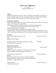 Resume Massage Therapist John Pielmeier Resume 1