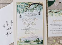 Photo Card Wedding Invitations Painted Landscape Wedding Invitations Momental Designsmomental Designs