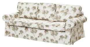 Ektorp 3 Seater Sofa Bed Cover Ikea Ektorp Pixbo Cover Set Only For 3 Seat Sofa Bed Norlida White