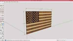 Flag Box Plans American Flag Coin Rack