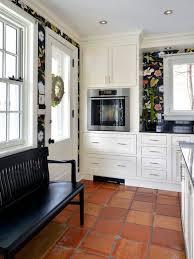Terracotta Floor Tile Kitchen - terra cotta floor houzz