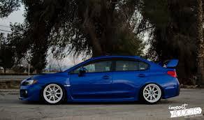 subaru stanced blue blue devil luis arevalo u0027s 2015 sti import addicts welcome to