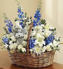 basket arrangements funeral basket arrangements fn ba011 everest florist and gifts