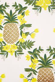 Pineapple Trend by Pineapple Welcome Wallpaper Anthropologie
