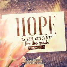 Love Anchors The Soul Hebrews - hebrews candid christian