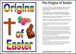 origins of easter worksheets iman s home school