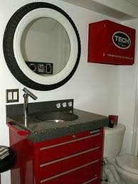 cave bathroom ideas garage 35 clever ideas for using car parts as home decor clever cars
