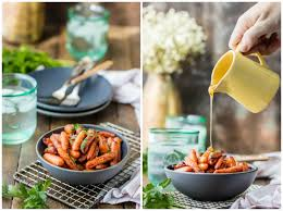 thanksgiving carrot side dish recipe honey balsamic roasted carrots the cookie rookie