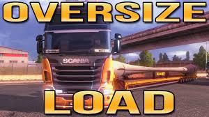 mod car game euro truck simulator 2 oversize load euro truck simulator 2 ets2 youtube