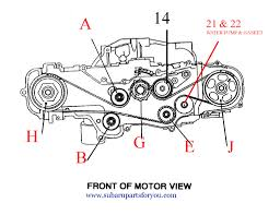 subaru engine diagram picture on how to time a 2007 subaru engine to rs25 the