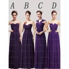 royal purple bridesmaid dresses cheap bridesmaid dresses select the purple bridesmaid