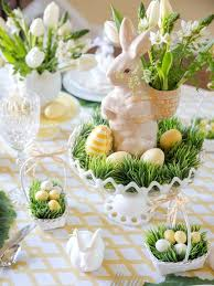 Easter Paper Table Decorations by Best 25 Easter Table Settings Ideas On Pinterest Easter Table