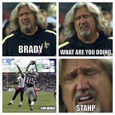 Funny Saints Memes - from a saints fan to you pats fans it was too funny not to share