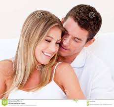 loving couple in bed stock photo image of romance sexual 24628262 portrait of a loving couple sitting on bed stock photo