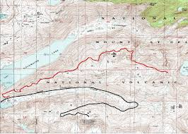 Coldwater Michigan Map by Mountain Biking Gifford Pinchot National Forest Coldwater Trail