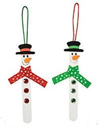 mustache ornaments set of 4 decorations