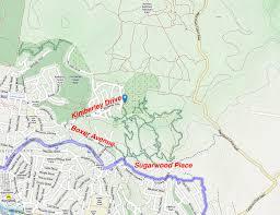 Forest Park Map Cornubia Mountain Bike Trail