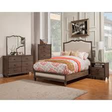 alpine furniture 1500 07ck charleston california king panel bed w