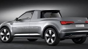 audi pickup truck audi pick up concept rendered and speculated