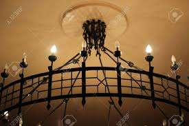 Forged Chandeliers Forged Chandeliers Stock Photo Picture And Royalty Free Image