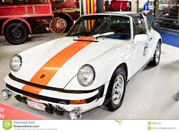 orange porsche targa old classic car porsche 911 targa editorial photo image 40838981