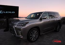 2016 lexus lx 570 pricing refreshed 2016 lexus lx 570 unveiled at pebble beach the fast