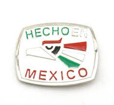 hechoen mexico flag colors aztec bird belt buckle u2022 8 95 picclick