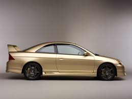 gold color cars honda civic concept r 2001 u2013 old concept cars