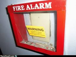 Spider Fire Alarm Meme - there i fixed it fire alarm white trash repairs cheezburger