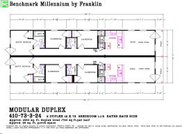 Modular Duplex Floor Plans Franklin Duplex New Orleans Modular Homes