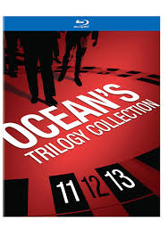 ocean twelve amazon com ocean u0027s trilogy collection blu ray various movies u0026 tv