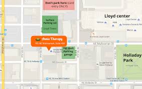 Portland Parking Map Annietherapy Com Contact Me Annie Ray Therapy In Portland Or