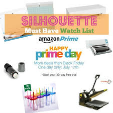 amazon black friday lightning deals times amazon prime day 2016 silhouette cameo accessory must haves
