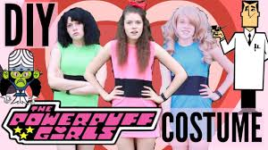 Powerpuff Girls Halloween Costumes Diy Powerpuff Girls Costume Perfect Halloween Cosplay
