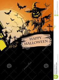 halloween poster royalty free stock photo image 33519705