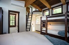 Lofted Bedroom by Ponderosa Chalet Whitefish Mountain Vacation Rental