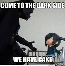 Cake Is A Lie Meme - the cake is a lie by yetitroll meme center