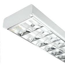 fluorescent light fittings 5ft 58w 2 tube t8 cat 2 high frequency surface fitting cef