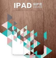 wood geometric protective with wood geometric pattern for apple