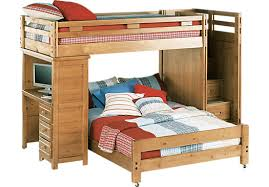 Taffy TwinFull Step Bunk Bed With Desk BunkDesk - Twin bunk beds with desk