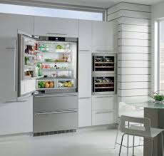 Refrigerator With French Doors And Bottom Freezer - liebherr cs2061 36 inch counter depth bottom freezer with 20 cu