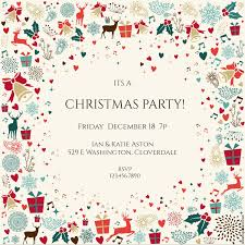 christmas party invitation template 15 free christmas party invitations that you can print