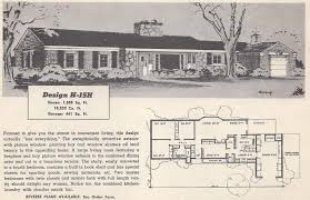 1950s ranch house plans vintage house plans mid century homes 1950s homes fabulous
