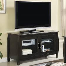 furniture modern media cabinet with glass doors offers cool