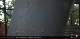 peeling painted plaster substance designer chris hodgson on
